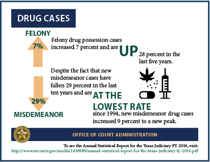 Drug Cases (2017 Infographic)